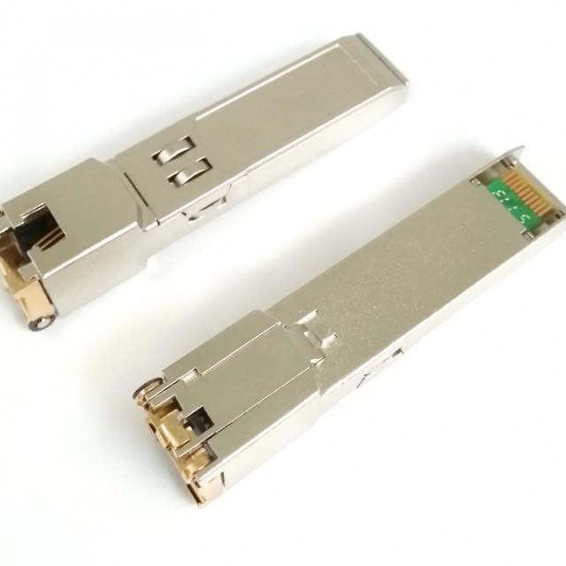 Copper transceivers: